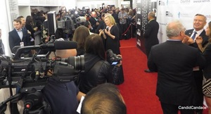 A view of the Red Carpet