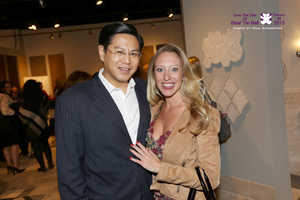 Lawrence Lee and Jessica Altieri
