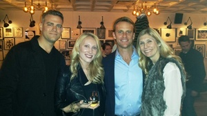 Theo Epstein, Joe Shenton and Marie Tillman