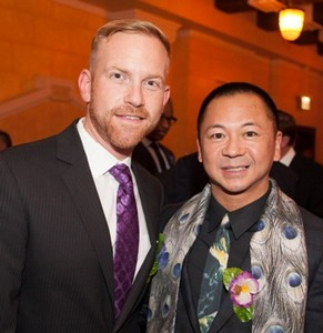 AFT Board Member Christopher Schmidt and Andy Lai