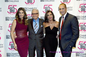 Cindy Crawford, Art Van Elslander, Hilary Farr and Nigel Barker