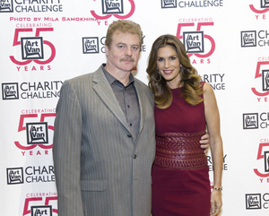 Arthur Samokhina with Cindy Crawford