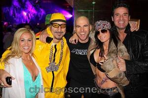 Jonny Immerman (center) with friends