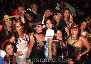 Carnivale revelers