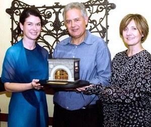 Nick Mlade, Giuseppe and Agata Zappani and Margaret Guzek