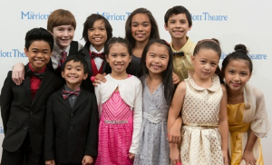 "Darling kids in the ""King and I""!"