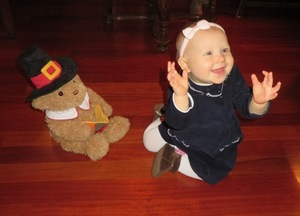 Audrey Steinwald's first Thanksgiving
