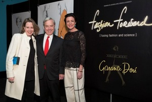 Sheila Cawley, David Mosena and Garance Dore