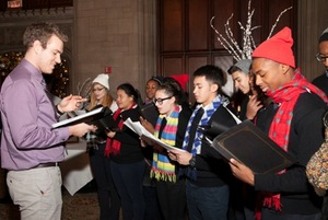 Chicago Hope Academy carolers