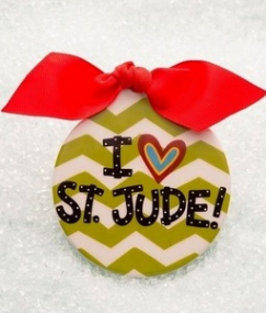 St. Jude ornament