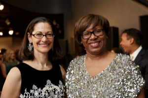 Co-chairs Anne Pramaggiore and Cheryl Harris