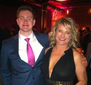 Jodi Fyfe and son Ethan Fyfe