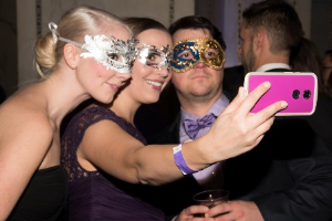 Snapping selfies the Purple Affair for the Bear!