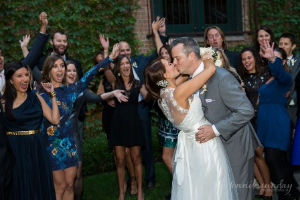 Erica Bethe Levin marries Terry Kane, the kiss!