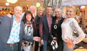 La Piaggia with Michel Desjardins, Deb Walters, Chuck, Jan Melk, Pierre Desy and Joanne.