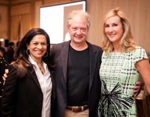 Bela Gandhi, Jeff Perry and Sarah Beardsley