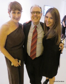 Carol Fox, Nick Harkin and Carly Leviton