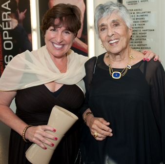 Luanne Blowers and Joan Harris